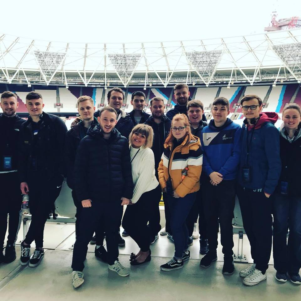 Higher Education Sport students visit London